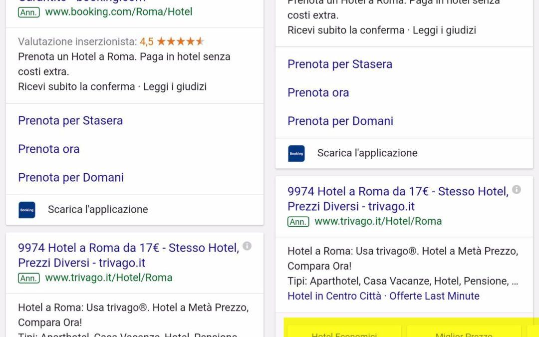 Google aggiunge le pubblicità espandibili alle ricerche da mobile