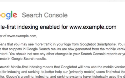 Google introduce l'indicizzazione mobile-first