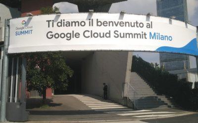 Partecipazione al Google Cloud Summit 2018
