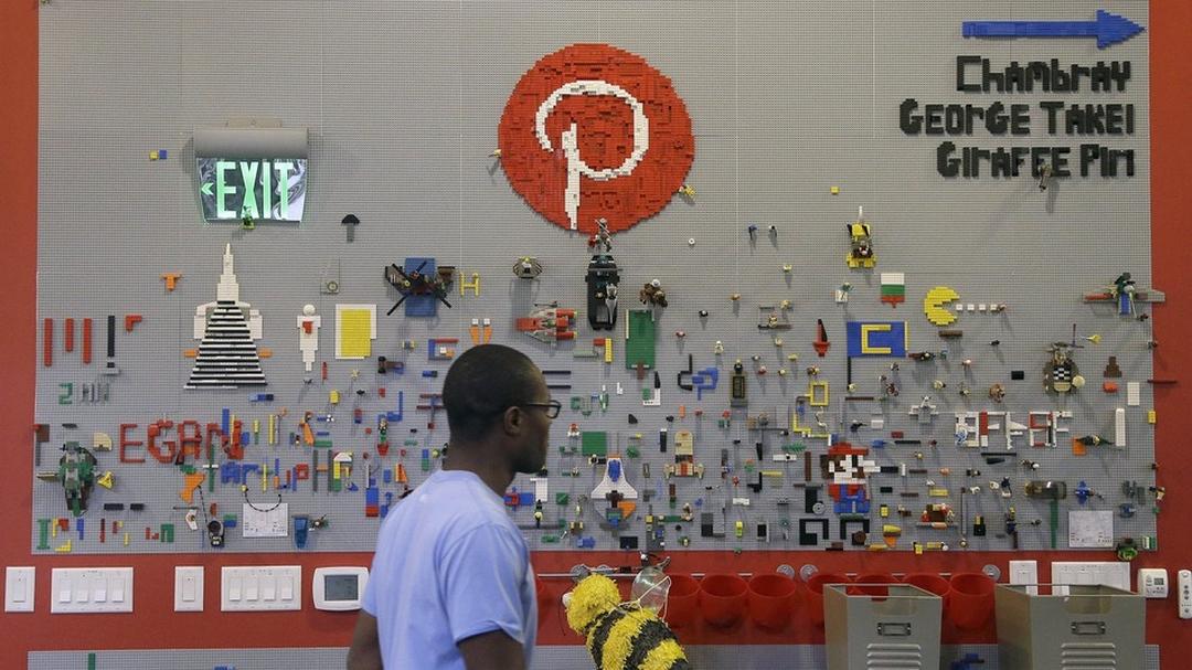 Il social network popolare, negli USA e nel mondo: Pinterest